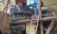 大口径制砂机在湖南宁乡花岗岩制砂生产线现场