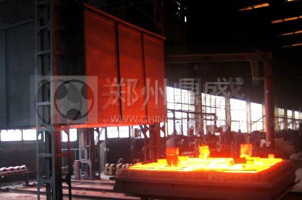 360千瓦热处理炉投入使用 可加工单重5-10吨耐磨铸件