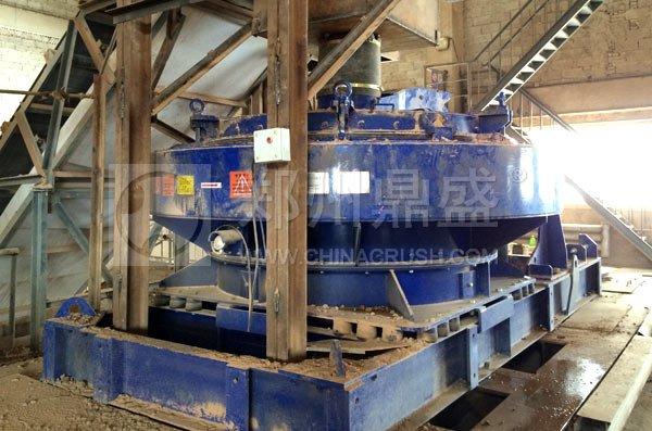 德国BHS原装制砂机在新疆破碎金矿石