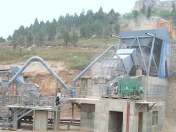 350t/h砂石料生产线