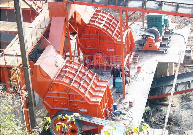 登封松峰时产1000吨制砂生产线