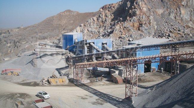 荥阳万欣时产400吨砂石料生产线