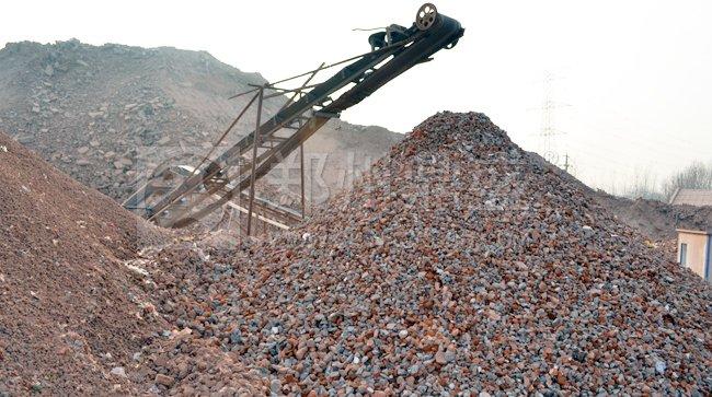 漯河时产120吨建筑垃圾处理生产线