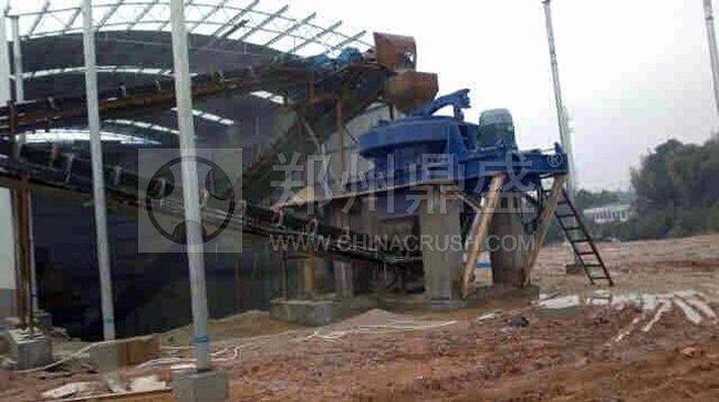 R1200德国制砂机用在湖南宁乡某石料厂