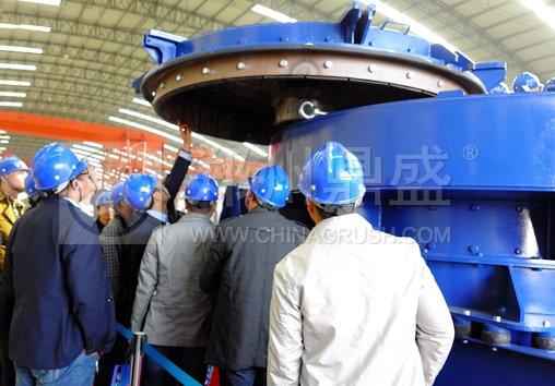 R1200德国原装制砂机用在湖南宁乡某石料厂