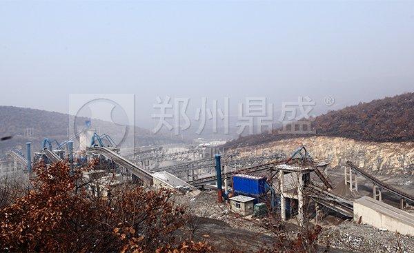 大型砂石骨料生产线