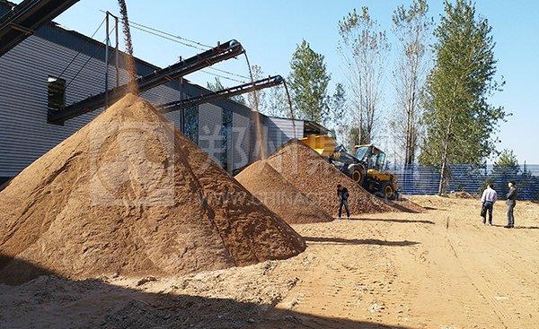 郑州long8 vip注册携手安徽客户打造固定式建筑垃圾处理生产线