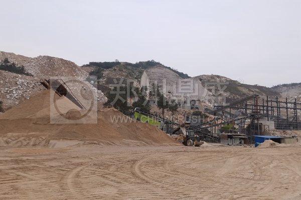 花岗岩制砂生产线怎样设计?才能减少30%的成本