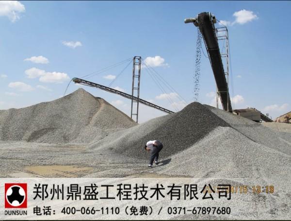 走访新疆客户见证郑州鼎盛河卵石制砂生产线设备质量