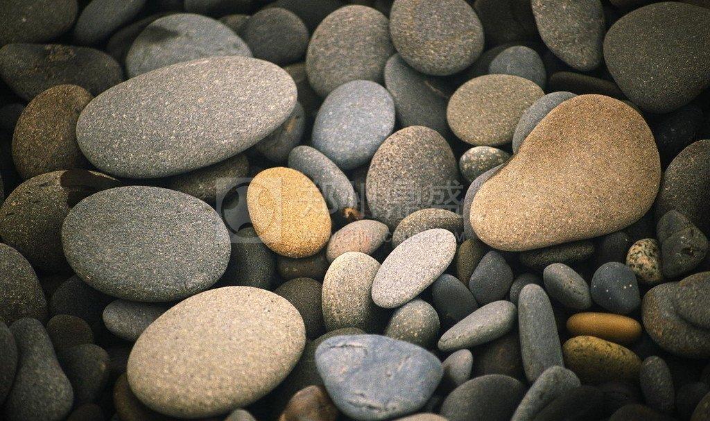 河卵石破碎