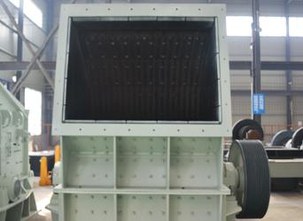 图:单段细碎机进料口展示