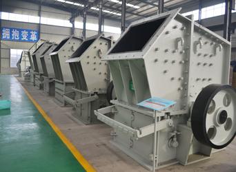 图:准备发货的单段细碎机