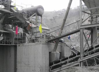图一:我司XPCF应用于辽阳恒威砂石生产线