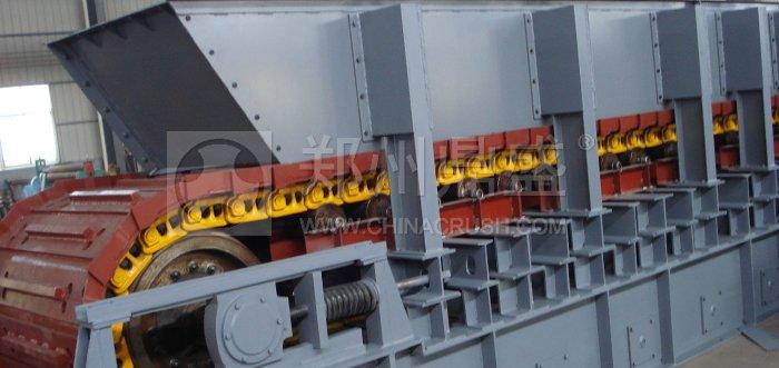 重型链板式给料机
