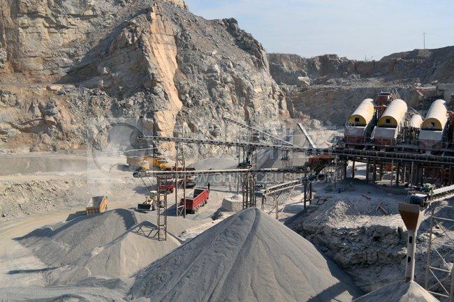 大型石子生产线
