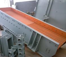 采石场设备之振动筛分给料机