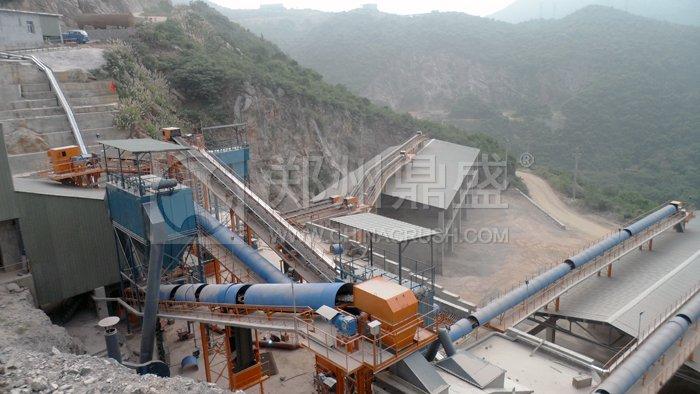 时产500吨采石场设备