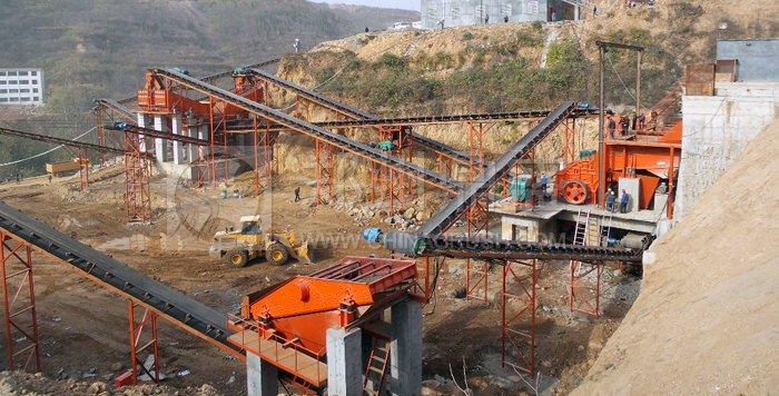 时产200吨采石场设备