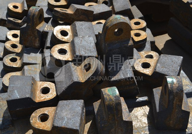 破碎机锤头多少钱