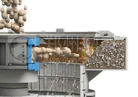 砂床结构德国BHS原装制砂机工作原理
