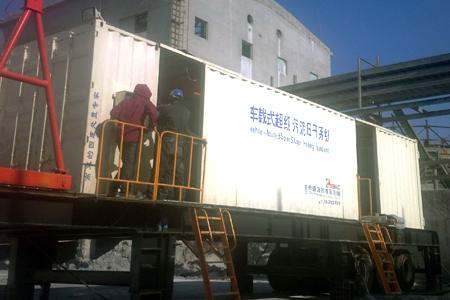 移动式超级污泥压干机济源使用效果