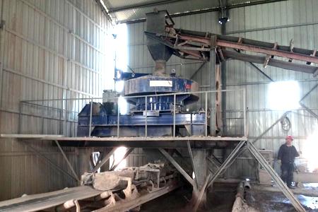新型河卵石制砂设备
