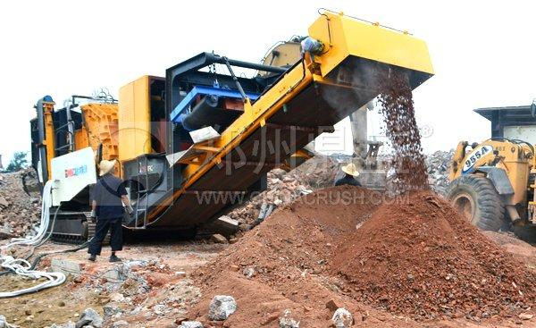 最新建筑垃圾处理机械