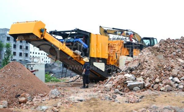 建筑垃圾破碎设备