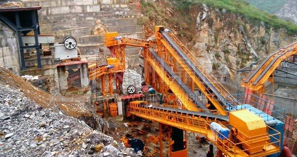 时产500吨砂石骨料生产线