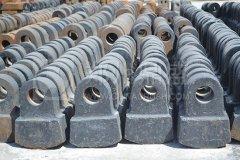 """新品水泥厂耐磨配件升级的优选""""大金牙""""锤头"""