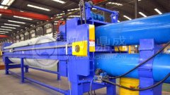 污泥深度脱水选超高压污泥压滤机