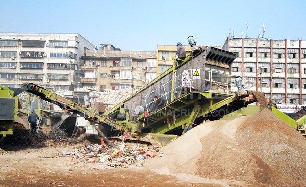 建筑垃圾破碎