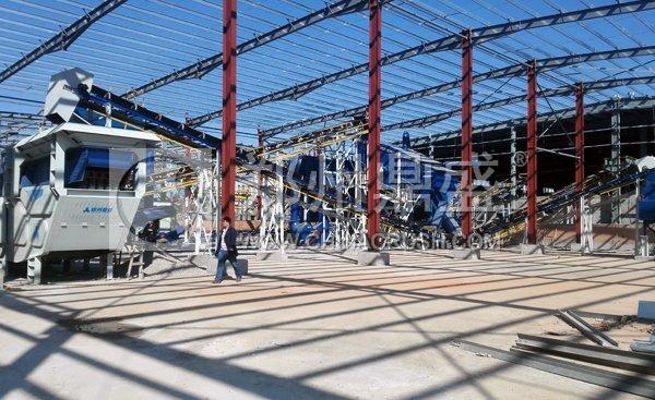 厦门固定式建筑垃圾破碎生产线