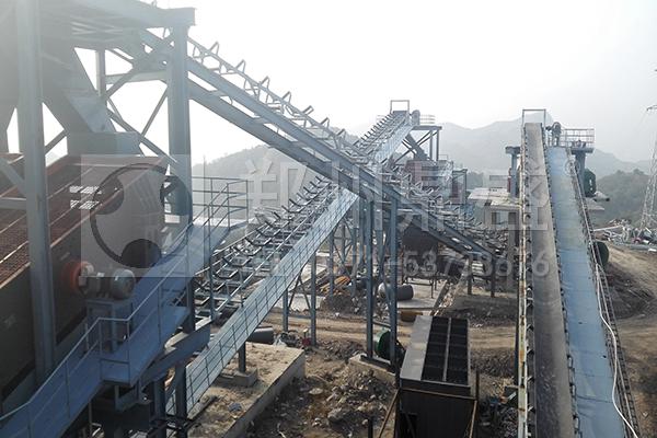 河北承德时产2000吨大型砂石骨料生产线