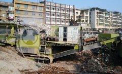湖南湘潭时产250吨履带式移动long8龙8首页设备
