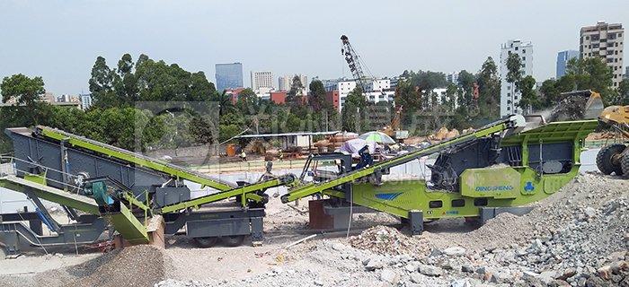 深圳建筑垃圾处理设备