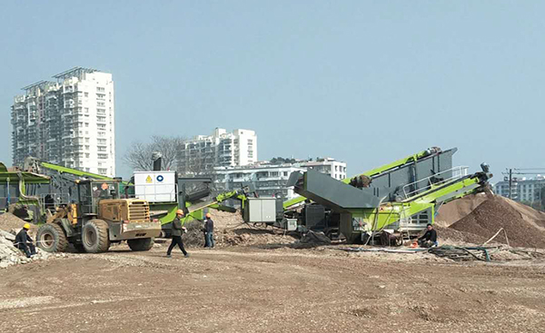 long8 vip注册履带式建筑垃圾处理成套设备推进温州市资源化发展