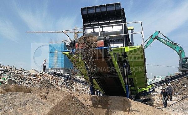 陕西建筑垃圾处理利用