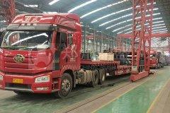 郑州long8 vip注册13台建筑固废处置装备发往江西