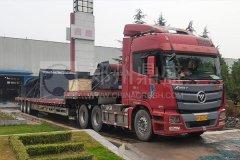 郑州long8 vip注册建筑垃圾处理成套设备发往安徽客户现场