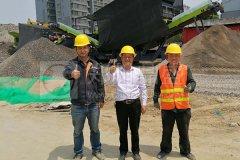 郑州long8 vip注册建筑垃圾处理设备推进资源化利用项目成为环保新蓝海