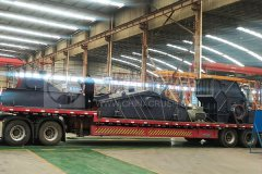 郑州long8 vip注册成套建筑垃圾处理设备发往浙江衢州