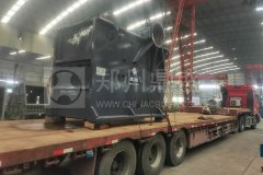 郑州long8 vip注册成套建筑垃圾处理设备发往湖北助力资源化利用