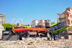 开机大吉丨郑州long8 vip注册助力广州建筑垃圾处理项目成功投产