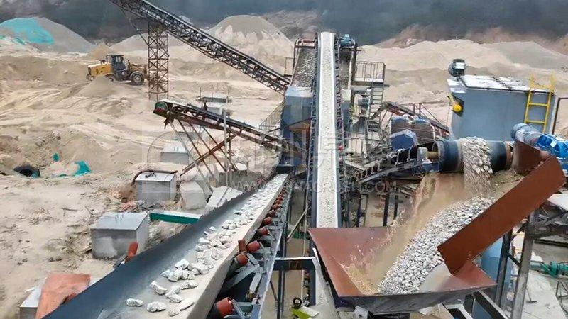 花岗岩制砂生产线
