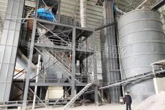 河南新乡制砂项目回访,带您了解RV大口径制砂机!