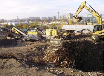 建筑废弃物破碎制砂生产线设备