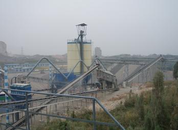 石灰石粉碎联产砂石生产线