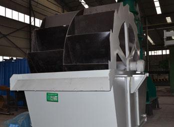 XS轮斗式洗砂机