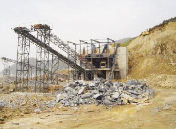 石灰石破碎生产线